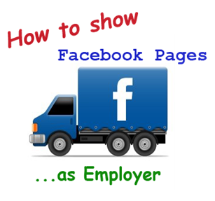 add employer facebook