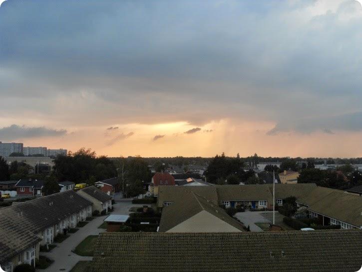 Himlen i aftes