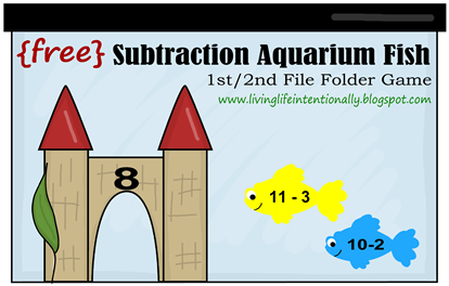 1st 2nd Grade Subtraction Game