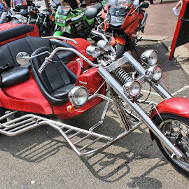 Trike by Dean Thorpe - Transportation Motorcycles