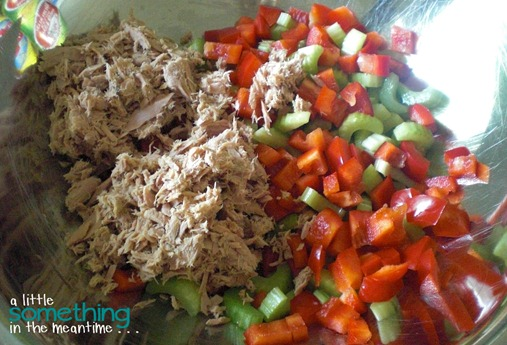 Tuna Pasta Salad Mix It Together