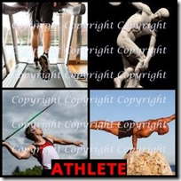 ATHLETE- 4 Pics 1 Word Answers 3 Letters