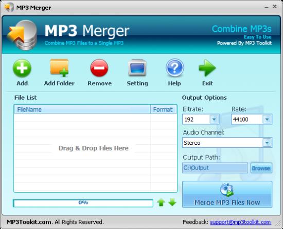 MP3 Merger