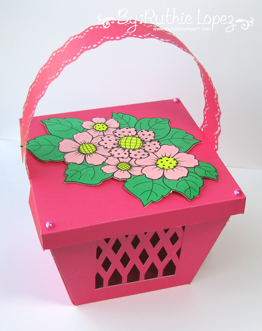 Beccy´s Place - Country Floral -Basket - Ruthie Lopez - My Hobby My Art 2