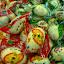 Szanghaj - zafoliowane jajka