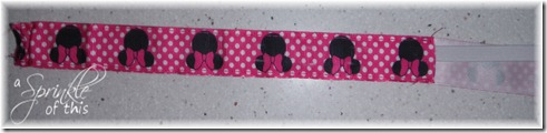 Wrist Leash Elastic Pocket {A Sprinkle of This . . . . A Dash of That}