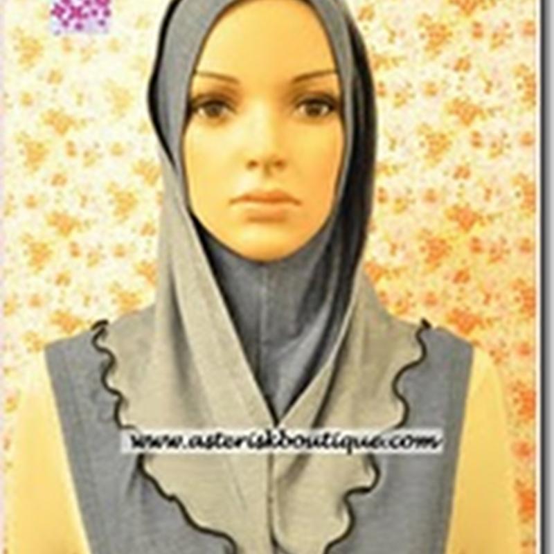 Asterisk Hijab: Denim Exclusive (Yuna or Siti's Style)