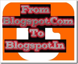 Blogspot URL Changed