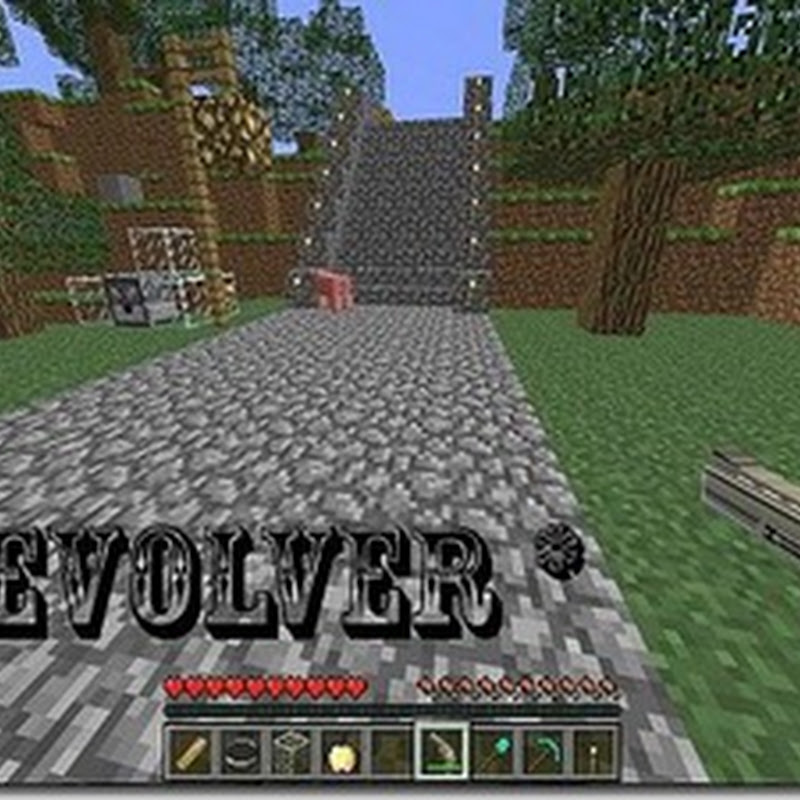 Minecraft 1.2.5 - Revolver Mod 1.2.5