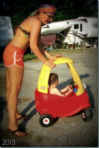 bikini car
