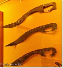 Falcatas ibéricas - Museo arqueológico de Alcoi