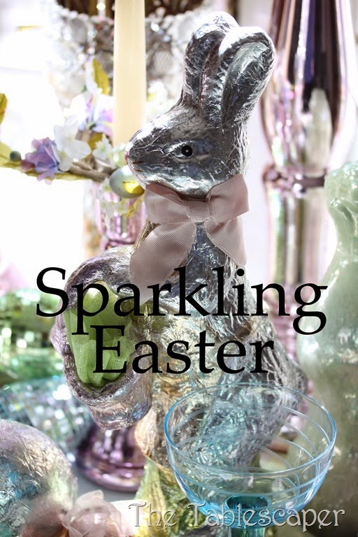 Tablescape Sparkling Easter - The Tablescaper08