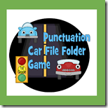 1st Grade Punctuation File Folder Game