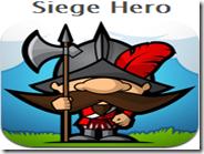 Siege Hero gratis online per PC gioco dove abbattere i castelli con lancio di massi