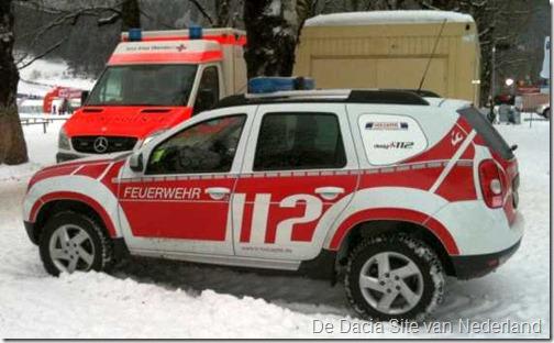 Dacia Duster als brandweer 15
