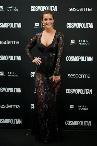 Malena Costa attends the Cosmopolitan Fun Fearless Awards 2014