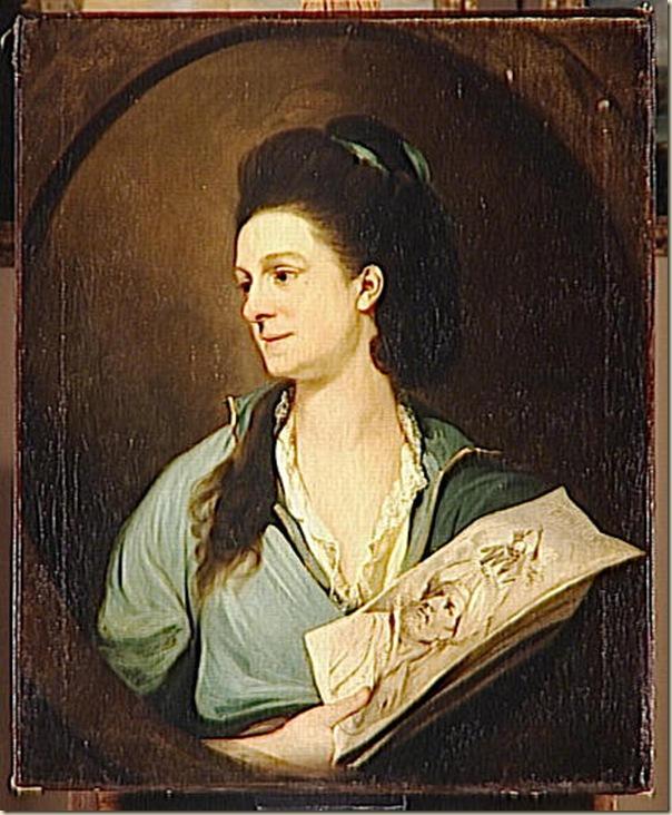 Mortimer John Hamilton, Portrait de femme