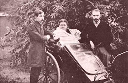 Hp Blavatsky With James Pryse Left And Grs Mead London 1890