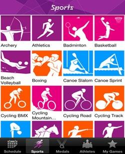 app iPhone-jocurile olimpice 2012.-Londra