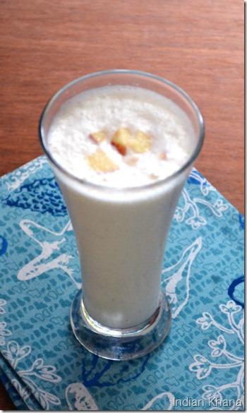Easy Apple Milkshake Vrat Fasting Recipes