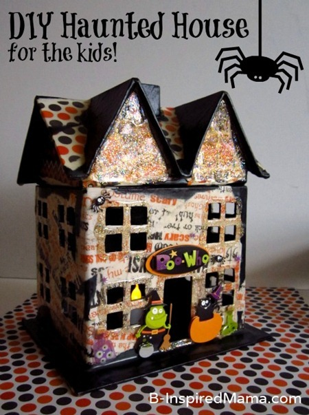 Mod Podge Haunted House 8