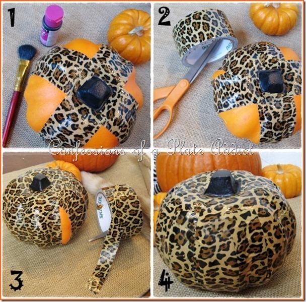 Duct Tape Pumpkin Tutorial