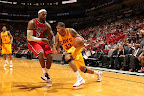 lebron james nba 130224 mia vs cle 08 LeBron Debuts Prism Xs As Miami Heat Win 13th Straight