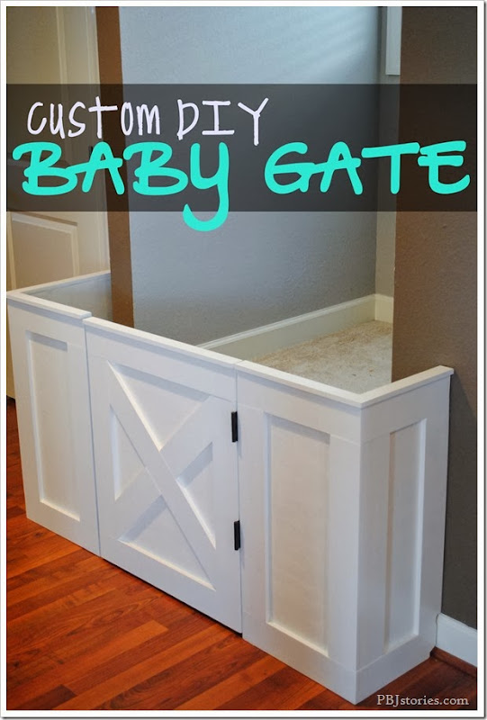 Custom DIY baby gate