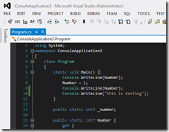 LightWithDarkEditorThemeVisualStudio2012