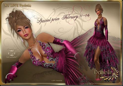 DANIELLE My Love Fuchsia Special'