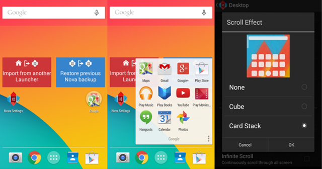 Lollipop Launcher para Android