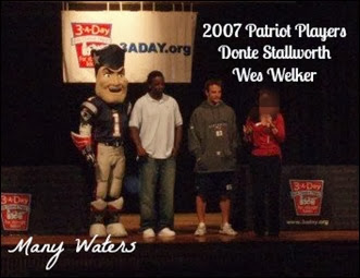 Many Waters Pats players at school