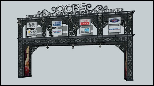 CBS_Cable_Bridge_New_Orleans_Jackson_Square_Super_Bowl_XLVII