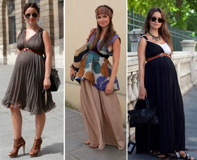 gravidas estilosas moda gestante
