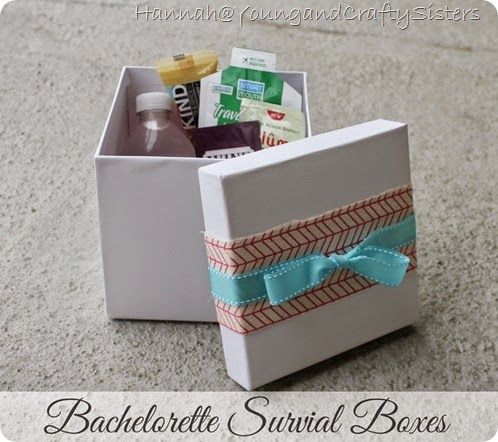 bachelorette survival boxes