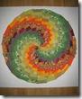 барджелло по кругу шитье