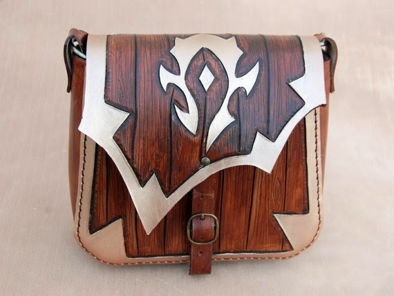 World of Warcraft Leather Bag from Forgiantica Leather