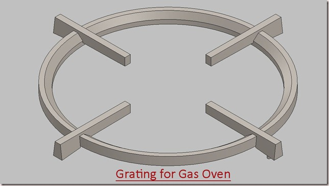 Grating for Gas Oven_1