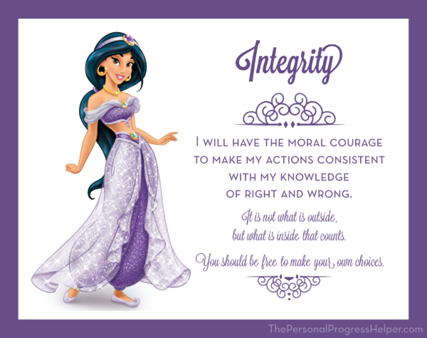 Young Women Value Disney Princess Posters | Integrity: Jasmine