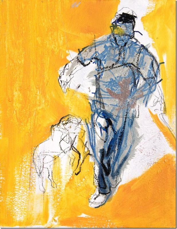 Manuela Furlan 45x35 su tela senza titolo