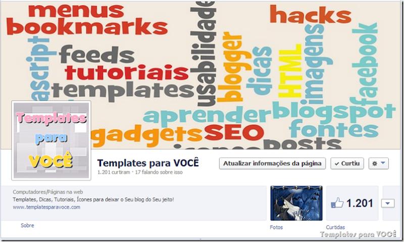 Nuvem de tags-Facebook