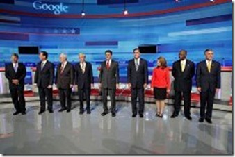 APTOPIX Republican Debate