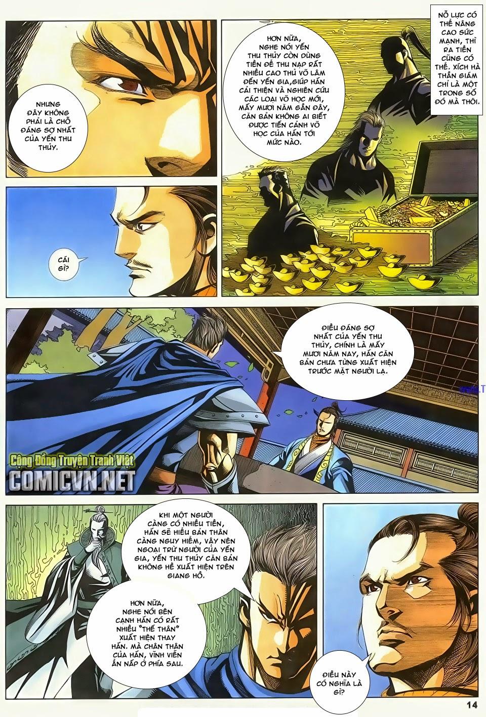 Cổ Long Quần Hiệp Truyện chap 83 - Trang 14
