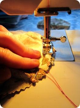 sew round