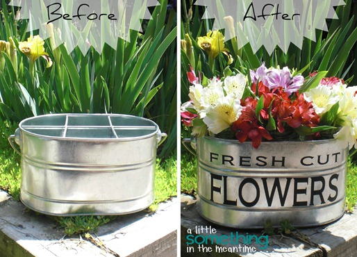 Fresh Cut Flowers Before After WM