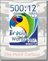500 dias para a COPA