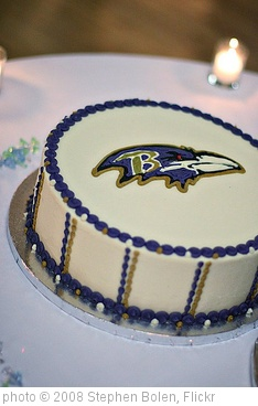 'Ravens Cake' photo (c) 2008, Stephen Bolen - license: http://creativecommons.org/licenses/by-nd/2.0/