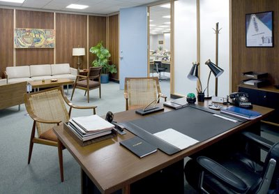 letu0027s begin with the offices of sterling cooper ad agency turned draper pryce mad men office furniture d