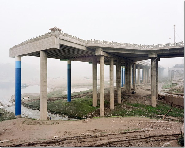 Sze Tsung Leong_Unfinished Elevated Highway, Ciqikou, Shapingba District, Chongqing, 2002