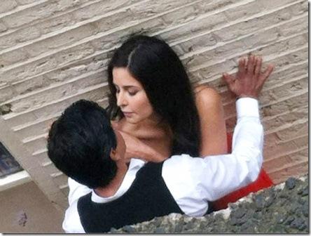 SRK Katrina Kaif romance 1